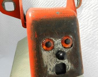 Junk Yard Robot Dog Assemblage-Junk Art