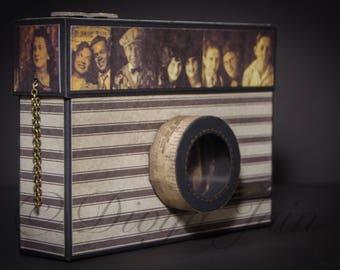 Scrapbook in Camera Box