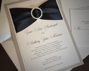 GRACE ANN: Layered Wedding Invitation