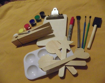 Clipboard and Pin Paint Project - Free Shipping