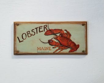 Lobster Maine - Vacation land