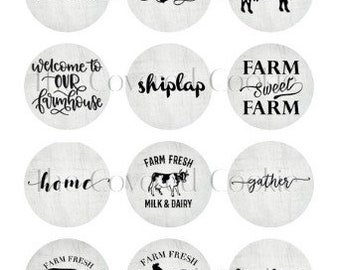 Farmhouse Collection-Themed Chocolate Covered Cookies, Custom Treats for all Occasions