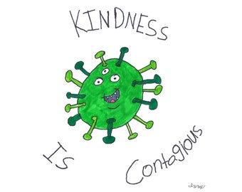 Izzy's T-Shirts for Kindness - Kindness is Contagious