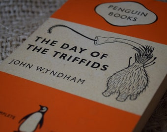 The Day of The Triffids. John Wyndham. A Vintage Orange Penguin Book 993. 1961