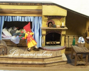 The little red ridding hood Diorama