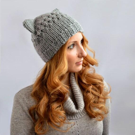 tricoter oreilles de chat