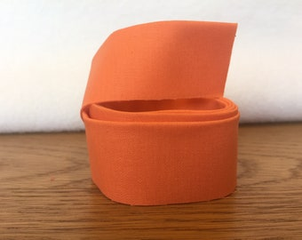 Cotton Quilt Binding- Carrot