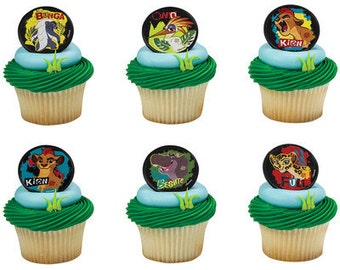 LION GUARD Cupcake Rings