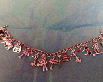 California themed charm bracelet with mouse ears!!