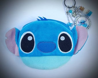 Lilo and stitch inspired change purse and keychain