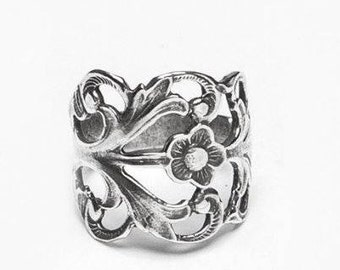 "Spoon Ring: ""Hazel"" by Silver Spoon Jewelry"