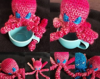 Crocheted Octopus toy Octopus