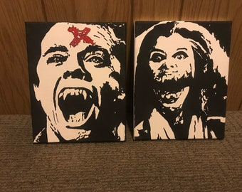 Fright Night ORIGINAL Paintings