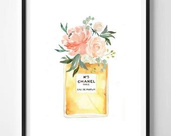 Perfume Printable Wall Art NO. 5