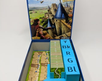 Carcassonne Board Game Insert