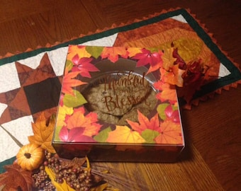 Thanksgiving Fall Cookie Box