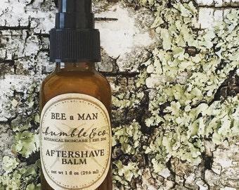 Aftershave Balm | Men's Shaving Gift | Herbal Aftershave | Aftershave Balm | Men's Aftershave Lotion | Natural Aftershave Balm | Wet Shaving