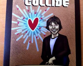 Science Valentine greeting card - Brian Cox