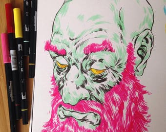 Pink Beard!!