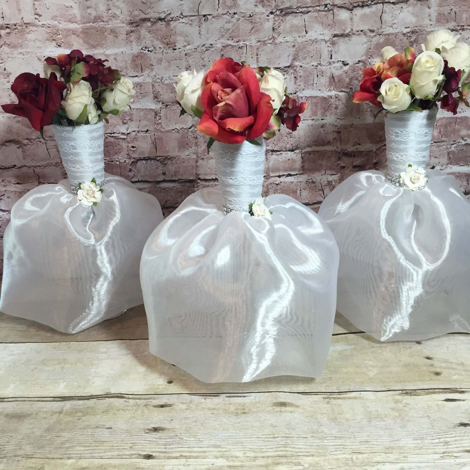 6 bridal dress flower vase centerpieces great for bridal zoom reviewsmspy