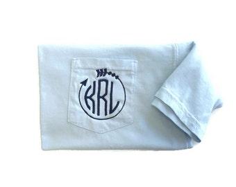 Monogram Shirt, Cross Country Shirt, Comfort Colors, Sorority Shirt, Arrow Shirt, Cross Country Mom, Running Shirt, Track And Field, Gift
