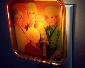 Golden Girls Night Light, Retro decor, Squad Goals, gift for her, Bridesmaid gift, Bachelorette party, Mothers Day Gift, BFF gift
