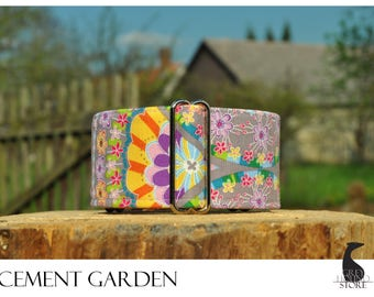 Cement Garden (Martingale Dog Collar - Greyhound collar | Galgo collar)