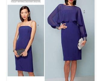 Dress sewing pattern Vogue V1532 Designer