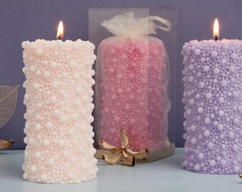 Wedding Candles - Wedding favours - Decorative Candles - Gift - Pillar Candles