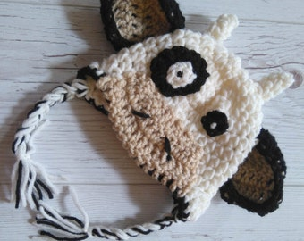 Cow Hat baby Cow Hat Crochet Cow Hat Newborn Cow Hat Animal Hat Crochet baby Hat Newborn Cow Photo Prop Cow Costume Beanie Outfit