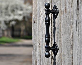 New uneique Door handle Hand forget Wicket handle Gate handle Metal handle Furniture wood door Door & Wood door handle   Etsy