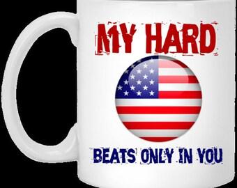 For my Country - 11 oz. White Mug