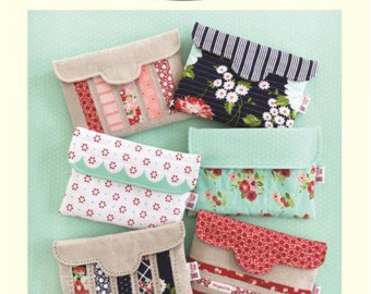 SEWING FUN (Pouch Pattern) - Pretty Little Pouches 2 - Designed by Bonnie Olaveson (Cotton Way)