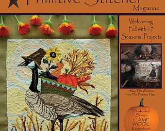 Magazine: NEW!  Fall 2017 - Punch Needle & Primitive Stitcher