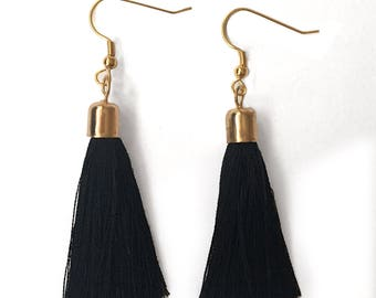 A Tinge of Fringe earrings