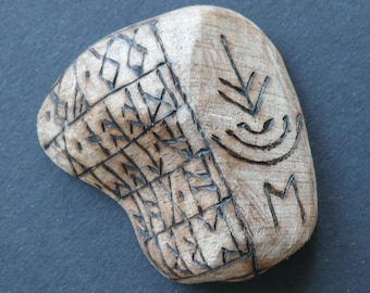 Pocket Talisman 125:  Wych Elm for Travelling Between Worlds