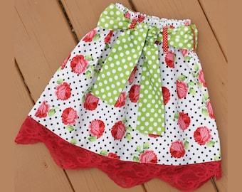Girls Skirt Sewing Pattern sizes 3m through 12 girls