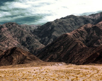 Death Valley   Rock Face   Fine Art Photography   polychromatophil   Photo Black Grey Brown Yellow Mountain Stone Rock Desert Drastic Meager