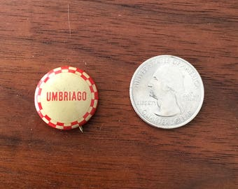 Umbriago Vintage Button