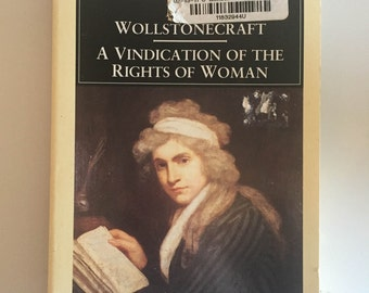 A Vindication of the Rights of Woman by Mary Wollstonecraft (1992, Paperback, Revised)