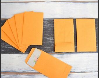 Kraft Coin Envelopes - Merchandise Packaging - (24) #3 Kraft Envelopes - Gummed Flat Envelopes