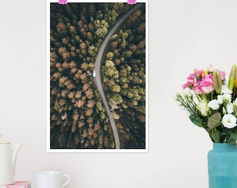 """JUNIQE ® Design """"Aventyr""""-murals, framed pictures & Framed Posters-photography and photographic art-designed by Airpixels Media"""