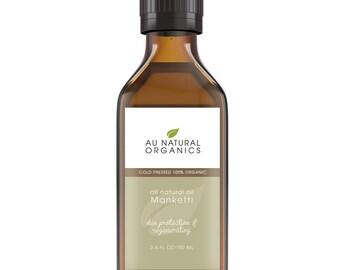 Au Natural Organics Mongongo Oil / Manketti Oil,  3.4oz (100ml)
