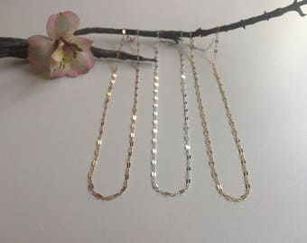 Rose Gold Amalfi Chain Necklace