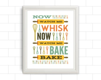 Whisk, Whisk Print, Whisk Artwork, Kitchen, Kitchen Print, Kitchen Artwork, Kitchen Poster, Kitchen Art, Kitchen Quote, Baking Quote, Quote