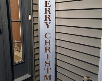 Merry Christmas, Welcome Wood Sign, Front Door Welcome Sign, Rustic Welcome Sign, Merry Christmas Sign