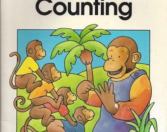 Vintage Questron's Little Q Counting Children's Book, 1989