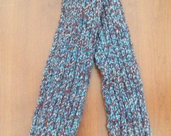 Blue Speckled Scarf
