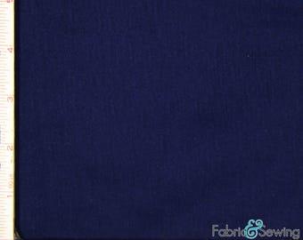"Navy Knit Slub Jersey Fabric 2 Way Stretch Rayon Slub 6 Oz 58-60"" 780165"