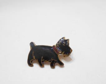 Vintage Little Scottie Pin (7549)